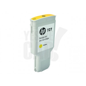 HP Cartouche d'encre DesignJet HP 727 Jaune 300 ml