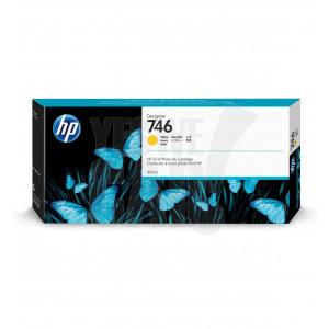 HP Cartouche d'encre DesignJet HP 746 Jaune 300 ml