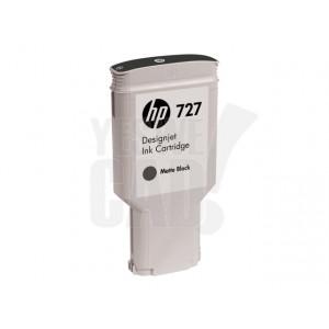 HP Cartouche d'encre DesignJet HP 727 Noir mat 300 ml