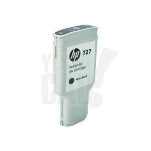 HP Cartouche d'encre DesignJet HP 727 Noir photo 300 ml