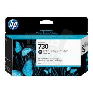 HP Cartouche d'encre DesignJet HP 730 Noir photo 130 ml