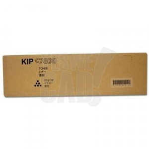 KIP C7800 - Z254590011 - Kit de toner jaune - 2 x 1000 gr