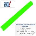Papier Vert Fluo - 91,4 cm x 45 m - 90 g/m²