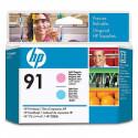 HP 91 - C9462A - Magenta Clair et Cyan Clair