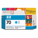 HP 70 - C9452A - Cartouche d'encre d'origine - 1 x cyan - 130 ml