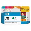 HP 70 - C9457A - Cartouche d'encre d'origine - 1 x verte - 130 ml