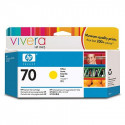 HP 70 - C9454A - Jaune - 130 ml