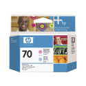 HP 70 - C9405A - Têtes d'impression d'origine - 1 x magenta claire et 1 x cyan claire