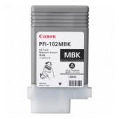 CANON PFI-102MBK - Cartouche d'encre d'origine - 1 x noire mat - 130 ml