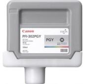 CANON PFI-302PGY - 2218B001AA - Cartouche d'encre - 1 x grise photo - 330 ml