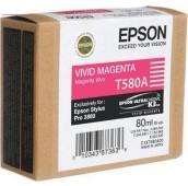 EPSON STYLUS PRO 3880 - C13T580A00 - Cartouche d'encre - 1 x magenta vivid - 80 ml
