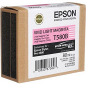 EPSON STYLUS PRO 3880 - C13T580B00 - Cartouche d'encre - 1 x magenta claire vivid - 80 ml