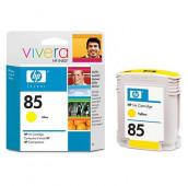 HP 85 - C9427A - Cartouche d'encre - 1 x jaune - 69 ml
