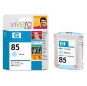 HP 85 - C9428A - Cartouche d'encre - 1 x cyan clair - 69 ml