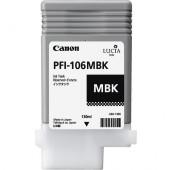 CANON PFI-106MBK - 6620B001AA - Cartouche d'encre - 1 x noir mat - 130 ml