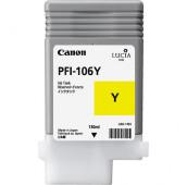 CANON PFI-106Y - 6624B001AA - Cartouche d'encre - 1 x jaune - 130 ml