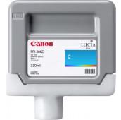 CANON PFI-306C - 6658B001AA - Cartouche d'encre - 1 x cyan - 330 ml