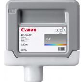 CANON PFI-306GY - 6666B001AA - Cartouche d'encre - 1 x grise - 330 ml