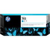 Cartouche d'encre DesignJet HP 745 cyan, 300 ml