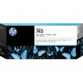 Cartouche d'encre DesignJet HP 745 noir photo, 300 ml