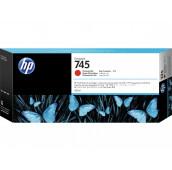 Cartouche d'encre DesignJet HP 745 rouge chromatique, 300 ml