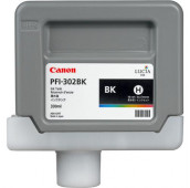 CANON PFI-302BK - 2216B001AA - Cartouche d'encre - 1 x noir - 330 ml