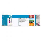 HP 91 - C9468A - Cartouche d'encre - 1 x magenta à pigments - 775 ml