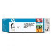HP 91 - C9465A - Cartouche d'encre - 1 x noir photo à pigments - 775 ml
