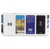 HP 90 - C5054A - Tête d'impression et dispositif de nettoyage - 1 x noir