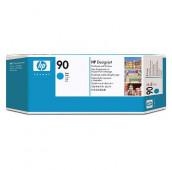 HP 90 - C5055A - Tête d'impression et dispositif de nettoyage - 1 x cyan