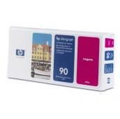 HP 90 - C5056A - Tête d'impression et dispositif de nettoyage - 1 x magenta