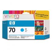 HP 70 - C9452A - Cartouche d'encre - 1 x cyan - 130 ml