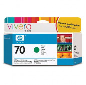 HP 70 - C9457A - Cartouche d'encre - 1 x verte - 130 ml