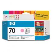 HP 70 - C9455A - Cartouche d'encre - 1 x magenta claire - 130 ml