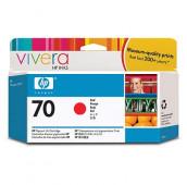 HP 70 - C9456A - Cartouche d'encre - 1 x rouge - 130 ml