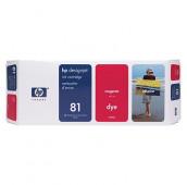 HP 81 - C4932A - Cartouche d'encre - 1 x magenta - 680 ml