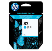 HP 82 - C4911A - Cartouche d'encre - 1 x cyan - 69 ml