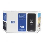 HP 90 - C5058A - Cartouche d'encre - 1 x noir - 400 ml
