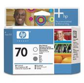 HP 70 - C9410A - Tête d'impression et optimiseur de brillance - 1 x grise et 1 x transparente