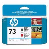 HP 73 - CD949A - Têtes d'impression - 1 x noir mat et 1 x rouge chromatique