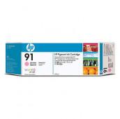 HP 91 - C9471A - Cartouche d'encre - 1 x magenta claire à pigments - 775 ml