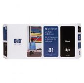HP 81 - C4950A - Tête d'impression et dispositif de nettoyage - 1 x noir