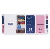 HP 81 - C4955A - Tête d'impression et dispositif de nettoyage - 1 x magenta claire