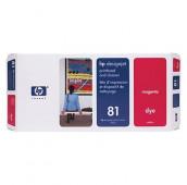 HP 81 - C4952A - Tête d'impression et dispositif de nettoyage - 1 x magenta