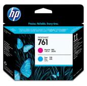 HP 761 - CH646A - Têtes d'impression - 1 x cyan et 1 x magenta