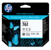 HP 761 - CH647A - Têtes d'impression - 1 x grise et 1 x grise foncée