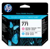 HP 771 - CE019A - Têtes d'impression - 1 x magenta claire et 1 x cyan claire