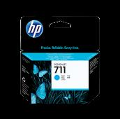 HP 711 - CZ130A - Cartouche d'encre - 1 x cyan - 38 ml