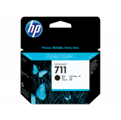 HP 711 - CZ133A - Cartouche d'encre - 1 x noir - 80 ml
