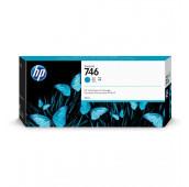HP Cartouche d'encre DesignJet HP 746 Cyan 300 ml